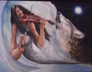 Лунната соната в зимна нощ