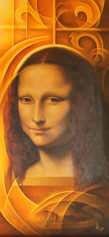 Реплика към Мона Лиза