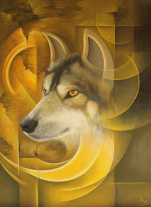 Съзерцание - вълк